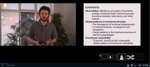 Valeriano Parravicini et son ppt en écran partagé grâce au logiciel Inwicast